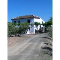 GREAT HOUSE BORDERLINE TWO PROVINCES IN IZNAJAR